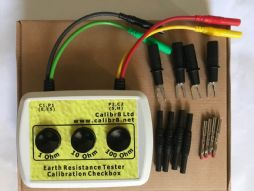 Calibration Checkbox For Earth Ground Resistance Tester